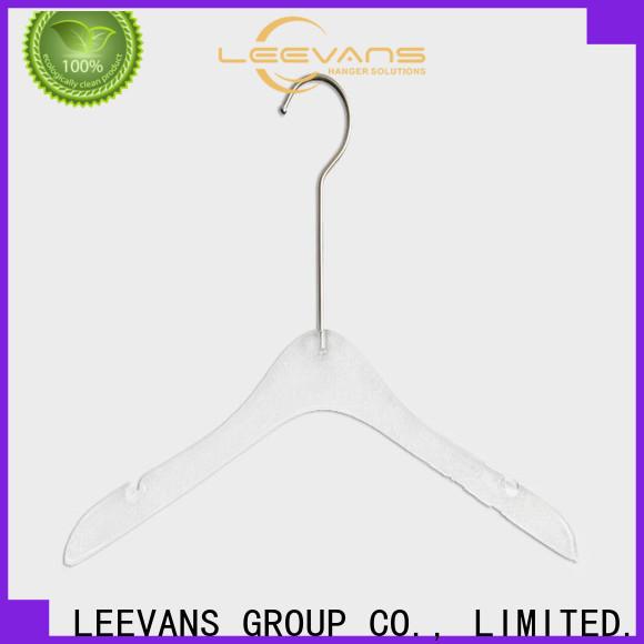 LEEVANS underwear custom coat hangers company for suits