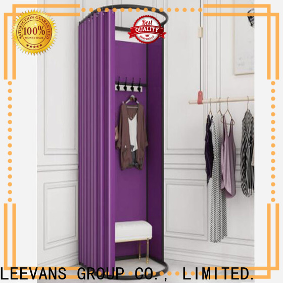 Custom clothing store dressing room for business