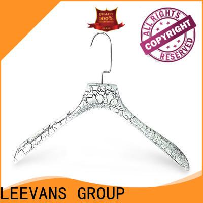 LEEVANS hanger wooden coat hangers with clips factory for children