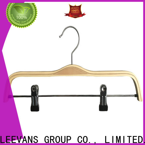 LEEVANS Best dark wood hangers company for kids