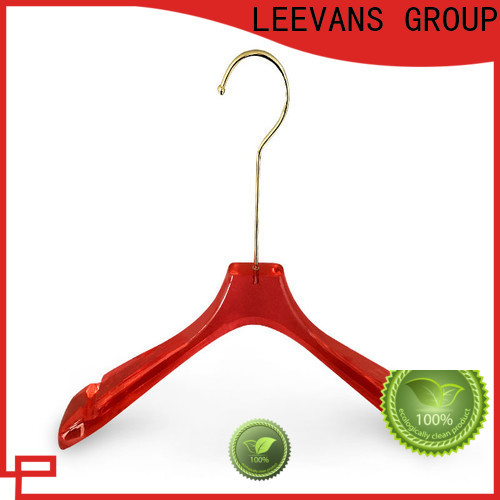 Wholesale acrylic clothes hangers on for business for T-shirts