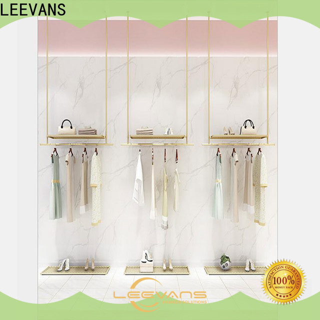 LEEVANS Top clothes display stand Suppliers