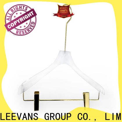 LEEVANS High-quality padded hangers factory for casuals
