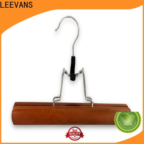 Top thick wooden hangers thin factory for clothes