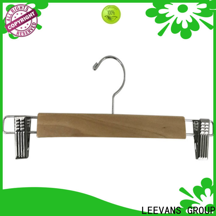 LEEVANS High-quality where to buy wooden clothes hangers Suppliers
