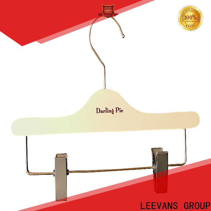 Custom clothes hangers for trousers company