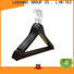 Wholesale black wooden coat hangers factory