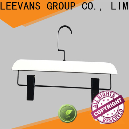 Latest white wooden clip hangers company