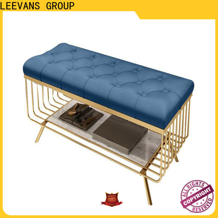 LEEVANS clothing shop seating manufacturers