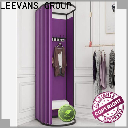 LEEVANS clothing store dressing room manufacturers