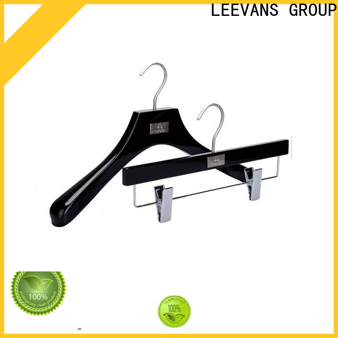 LEEVANS where to buy wooden hangers for business