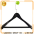 High-quality wooden pants hangers with clips Suppliers