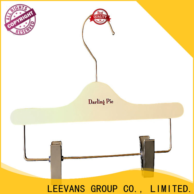 LEEVANS childrens clothes hangers for business