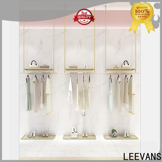 LEEVANS Latest clothes display stand manufacturers