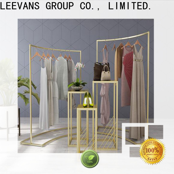 LEEVANS Wholesale clothes display stand Suppliers