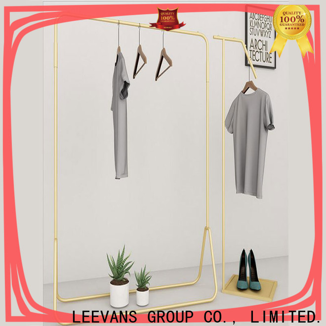 LEEVANS Custom clothes display stand Suppliers