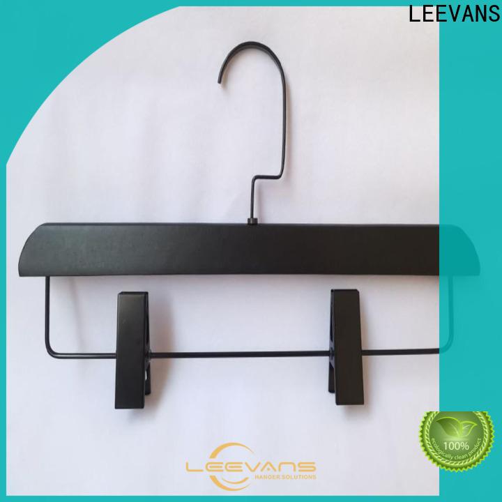 LEEVANS Wholesale wide wooden hangers Suppliers