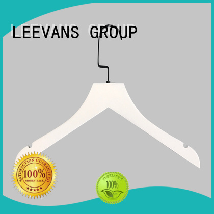 LEEVANS pants small wooden hangers factory for clothes