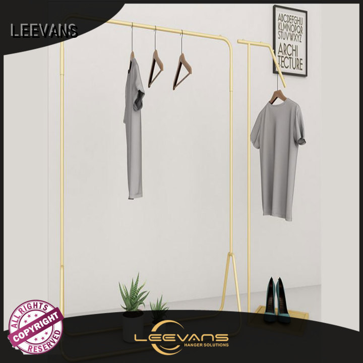 LEEVANS New clothes display stand factory