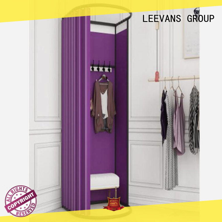 LEEVANS High-quality clothing store dressing room for business