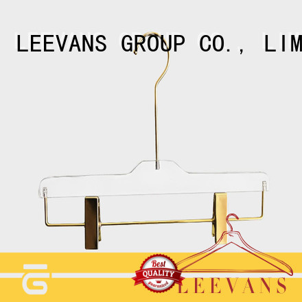 space coat hangers wholesale supplier for casuals LEEVANS
