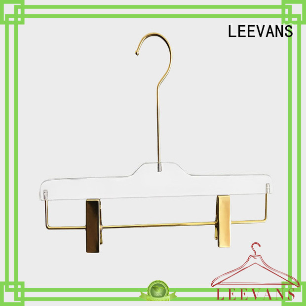 LEEVANS trouser coat hangers wholesale supplier for casuals