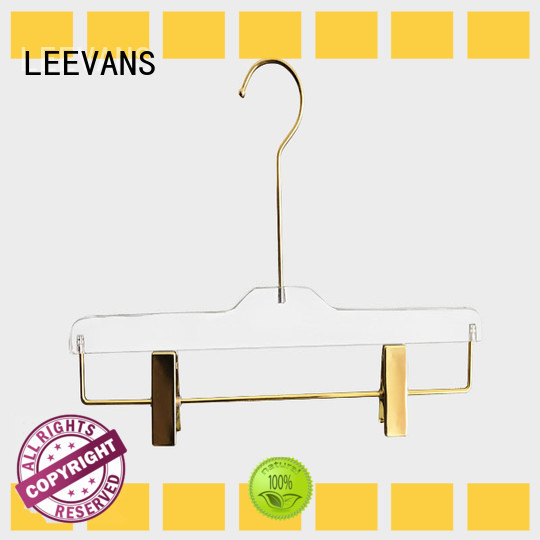 LEEVANS Custom hangers for sale Supply for casuals