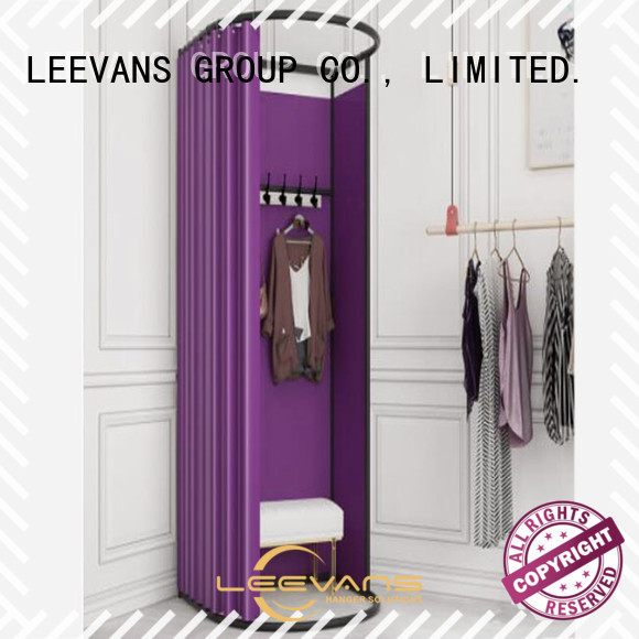 LEEVANS Custom clothing store dressing room company