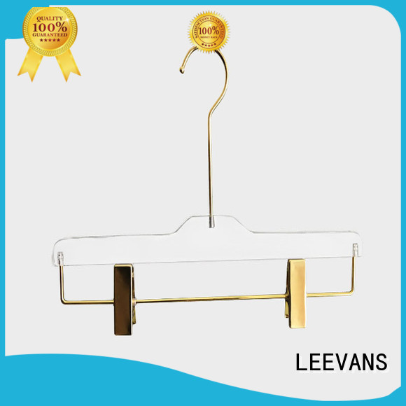 LEEVANS grey best clothes hangers with wide shoulder for pant