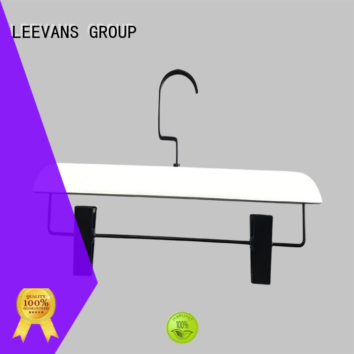 LEEVANS price wooden hangers manufacturers for trouser