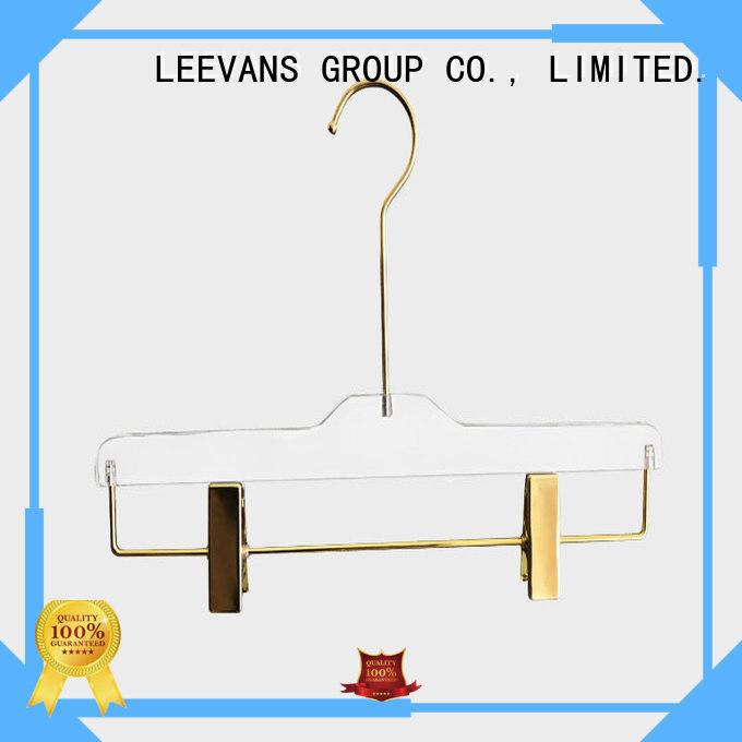 LEEVANS wide coat hanger design company for casuals