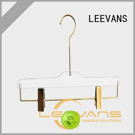 LEEVANS Wholesale acrylic clothes hangers company for trusses