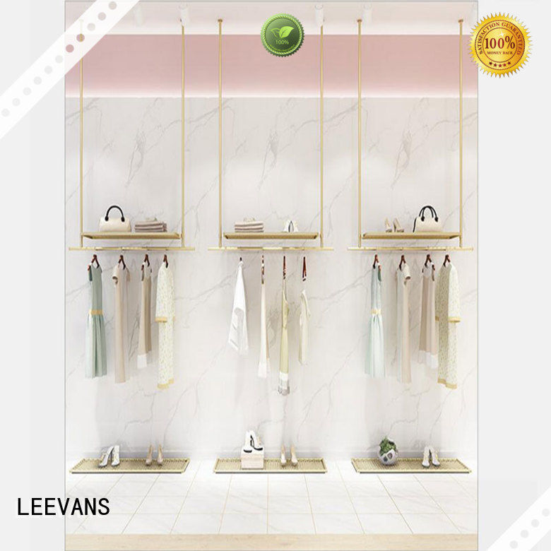 Custom clothes display stand for business