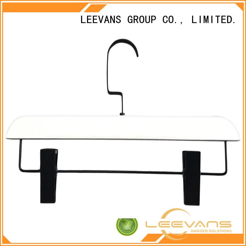 LEEVANS online wooden pants hangers manufacturer for trouser