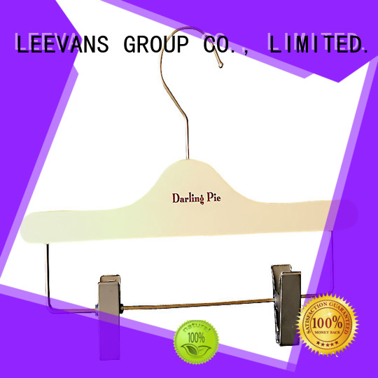LEEVANS New buy wooden clothes hangers manufacturers for pants