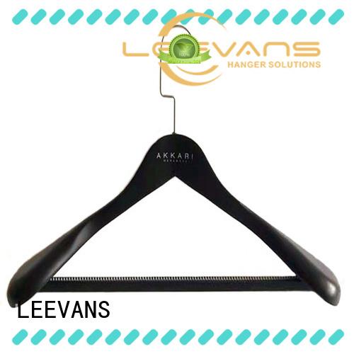 LEEVANS online wooden trouser hanger manufacturer for pants
