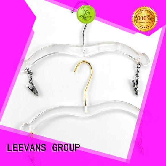 LEEVANS hanger acrylic hanger wholesale for pant