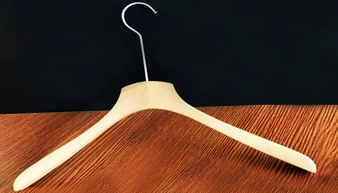 Commercial fashion coat underwear laundry european clothes wood hanger for t shirts