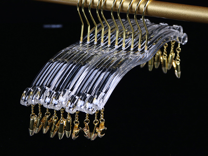 LEEVANS New clear clothes hangers Suppliers for suits-2