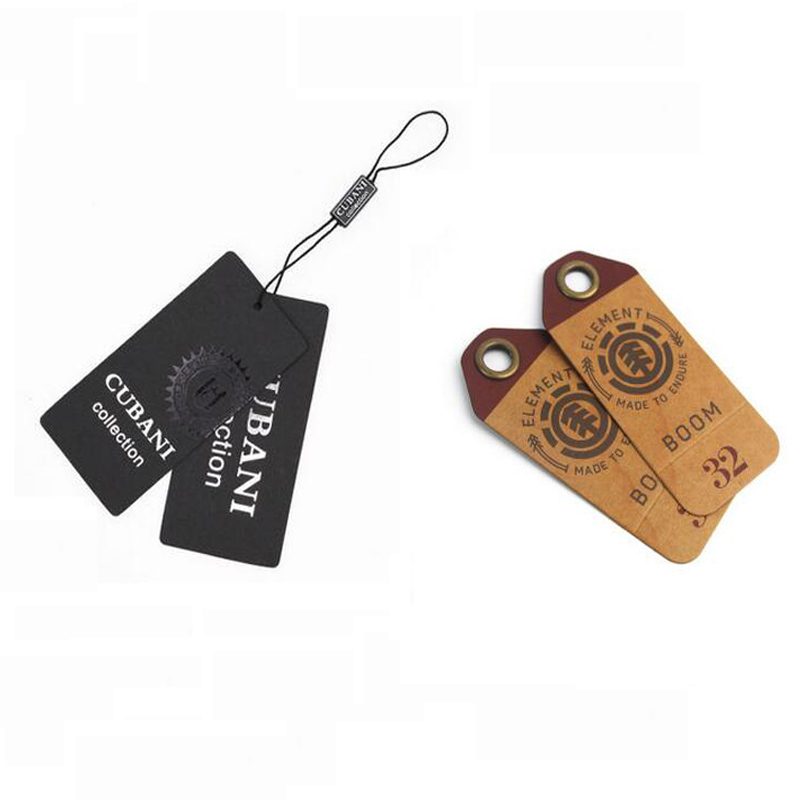 Free design Newest hang tag string wholesale for high-end garments For Garment For tags for clothes