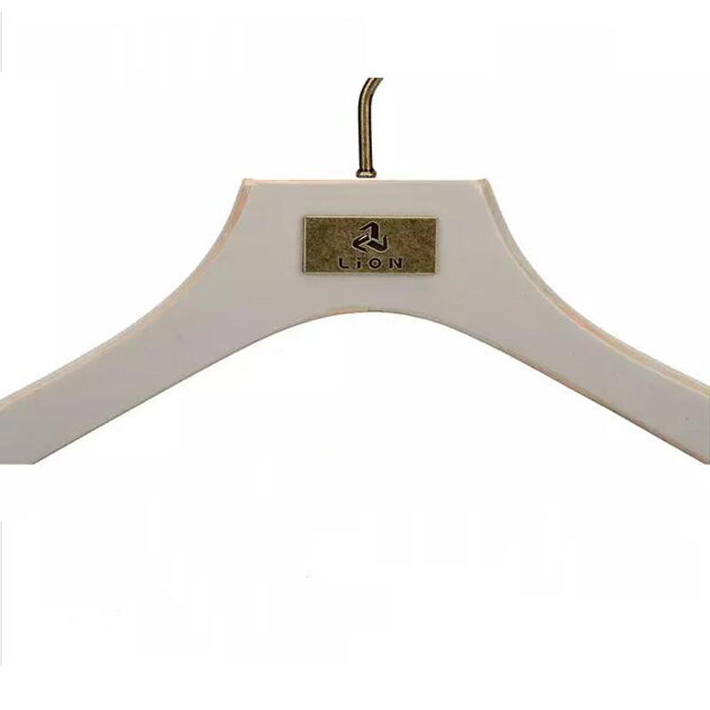 LEEVANS pant childrens white wooden coat hangers factory for kids-5