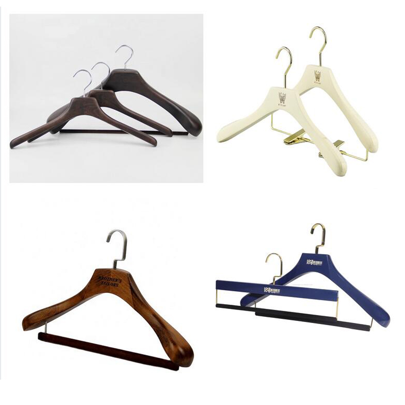 LEEVANS pant childrens white wooden coat hangers factory for kids-7