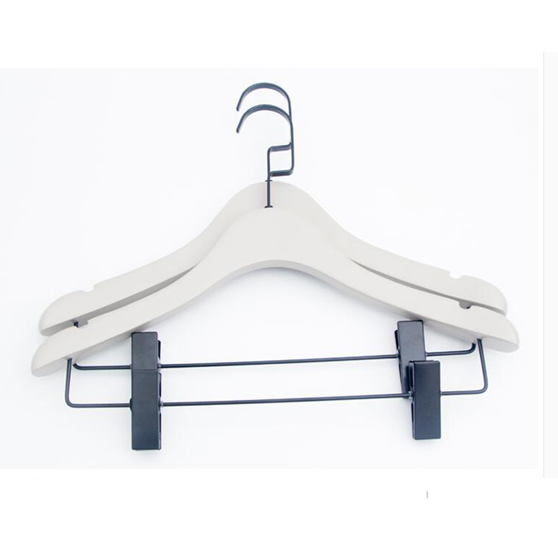 Custom Your Logo Deluxe Wooden Jackets Coats Dressing Hanger Made Of  Wooden