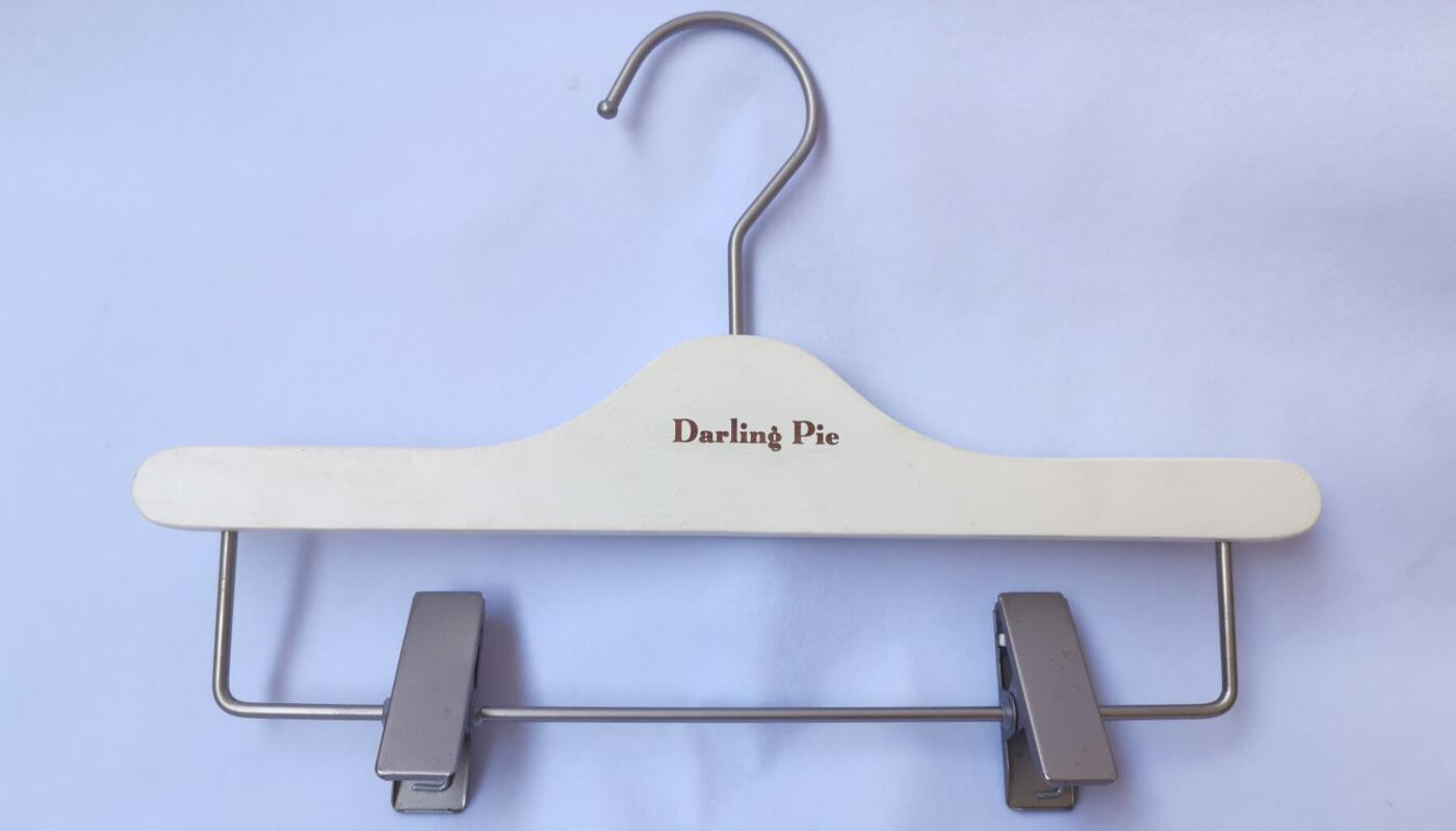 12mm thickness Wooden Pants Hanger For Children With Well Reputation