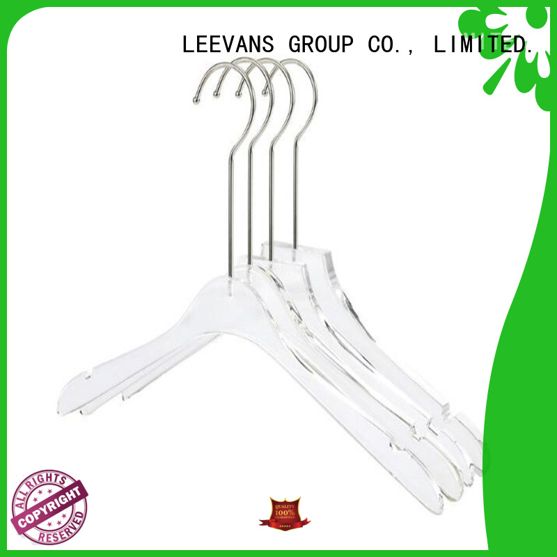 LEEVANS clear travel hangers company for sweaters