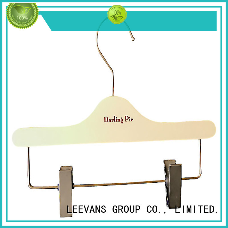 custom childrens wooden hangers or manufacturer for clothes