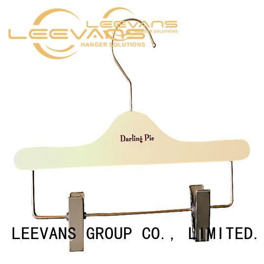 LEEVANS Custom hotel hangers company for trouser