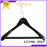 High-quality luxury wooden hangers natural manufacturers for clothes