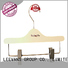 Wholesale large wooden hangers children company for trouser