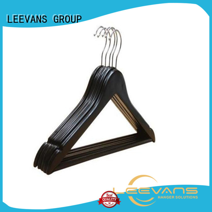 Best white wooden clip hangers hotel company for pants